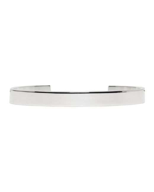Le Gramme - Metallic Silver Polished 'le 21 Grammes' Cuff - Lyst