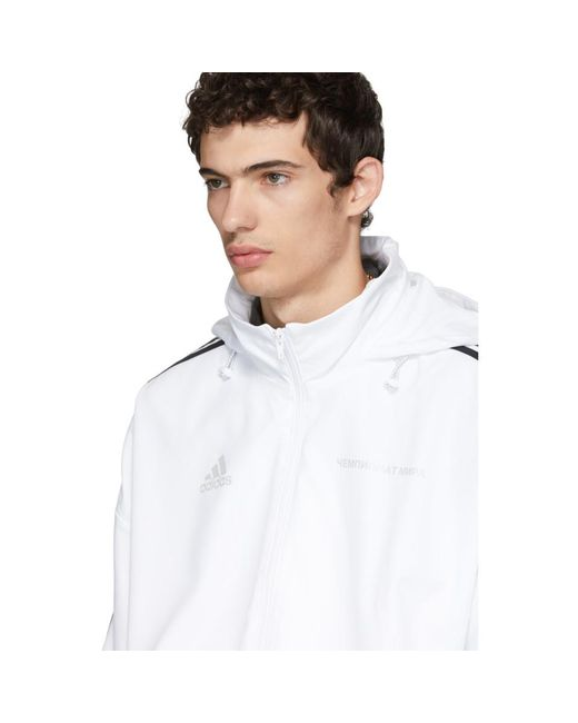 9bca8e68 ... Gosha Rubchinskiy - White Adidas Originals Edition Track Jacket for Men  - Lyst ...