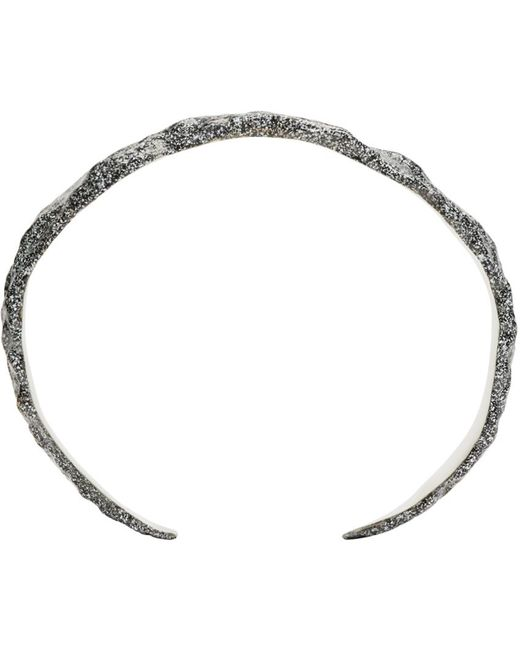 Pearls Before Swine   Metallic Silver Forged Cuff for Men   Lyst