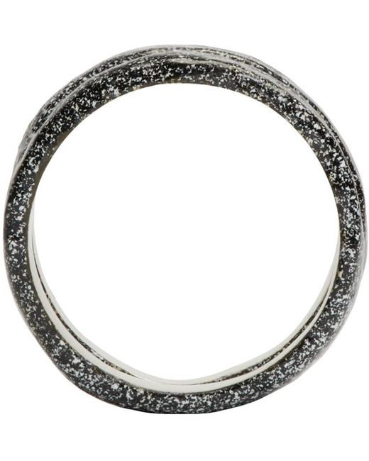 Pearls Before Swine   Metallic Silver Forged Ring Set   Lyst