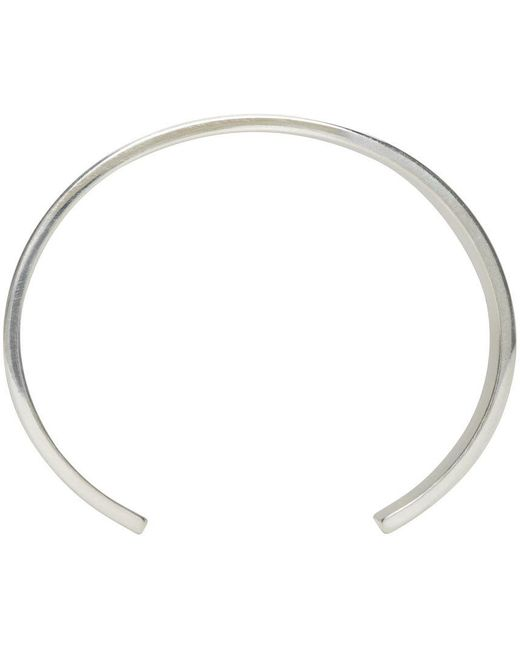 Le Gramme | Metallic Silver Polished Le 33 Grammes Cuff | Lyst