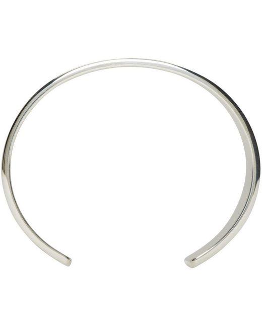 Le Gramme | Metallic Silver Le 41 Grammes Cuff | Lyst