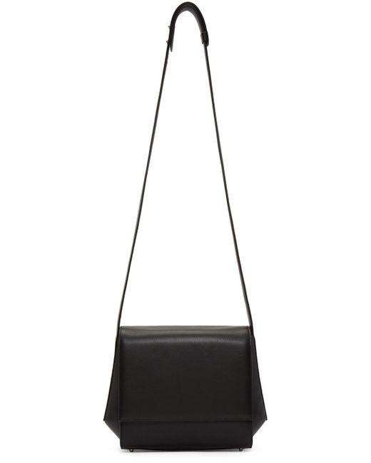Tsatsas | Black Leather Turin Shoulder Bag | Lyst