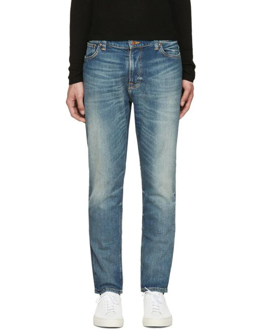 Nudie Jeans | Blue Brut Knut Jeans for Men | Lyst