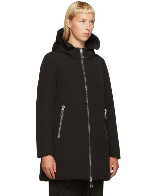 Moncler Dimitra Down Filled Shell Parka Jacket In Black Lyst