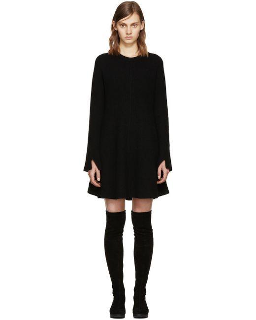 Proenza Schouler | Black Cutout-back Stretch-crepe Dress | Lyst