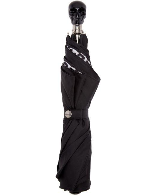Alexander McQueen | Black Skull Umbrella | Lyst