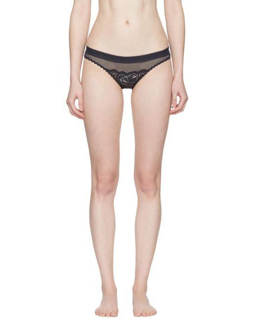 Stella McCartney   Blue Navy Sophie Surprising Bikini Briefs   Lyst