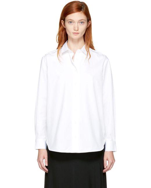 Totême  | White Capri Shirt | Lyst