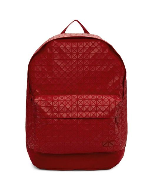 Lyst - Bao Bao Issey Miyake Red Daypack Backpack in Red for Men 6fe2b10a32802
