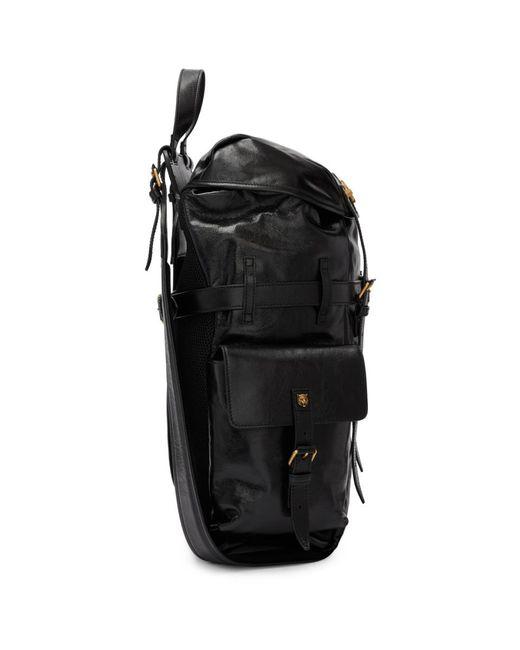 048c4a7291 ... Gucci - Black Multi Pocket Flap Backpack for Men - Lyst ...