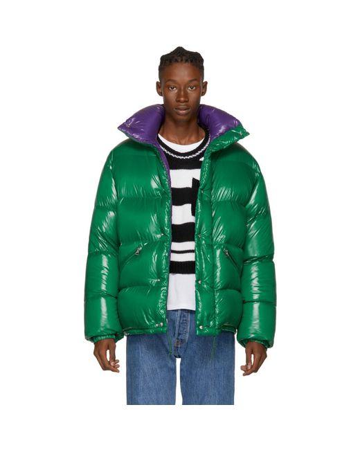 Moncler - Green Down Dejan Jacket for Men - Lyst