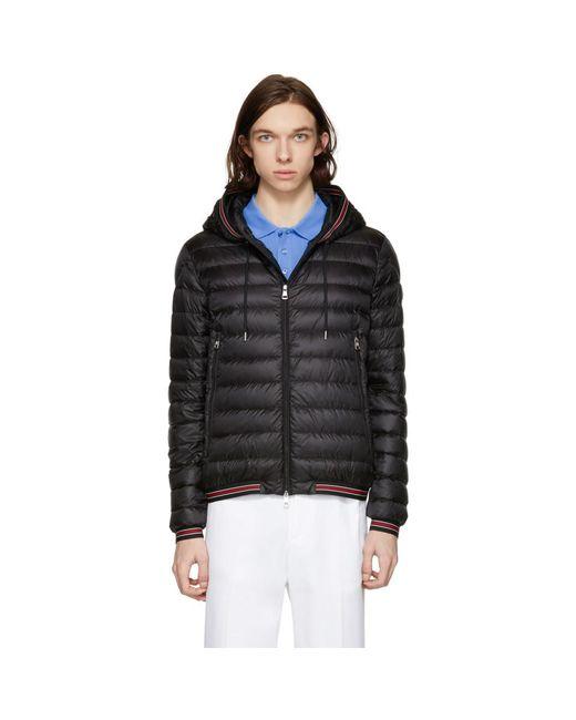 Moncler - Black Down Eliot Jacket for Men - Lyst