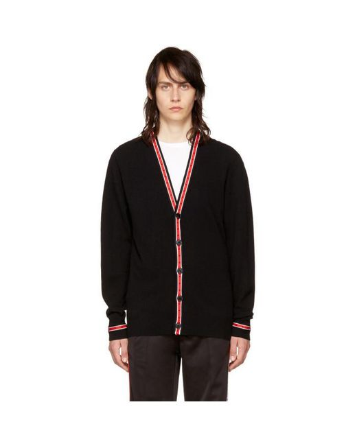Givenchy | Black Iconic Band Cardigan for Men | Lyst