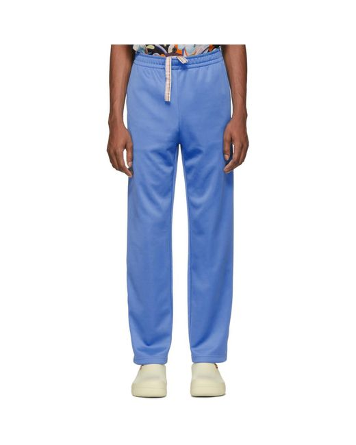 Acne - Blue ブルー ドローストリング ラウンジ パンツ for Men - Lyst