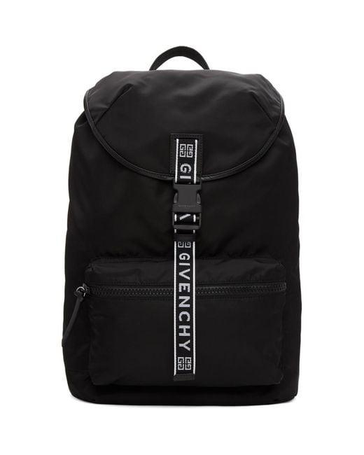 Givenchy - Black Light 3 Ticker Backpack for Men - Lyst