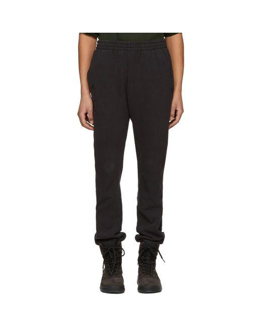 Yeezy - Black Pantalon de survetement noir Calabasas for Men - Lyst