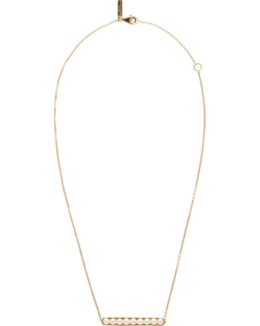 Melanie Georgacopoulos   Metallic Gold Essence Line Pendant   Lyst
