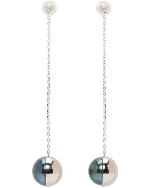 Melanie Georgacopoulos | White Gold Arlequin Tasaki Edition Pendant Earrings | Lyst