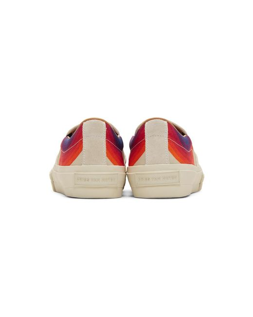 3d084ff5dd ... Dries Van Noten - Multicolor Off-white Verner Panton Edition Canvas  Sneakers for Men ...