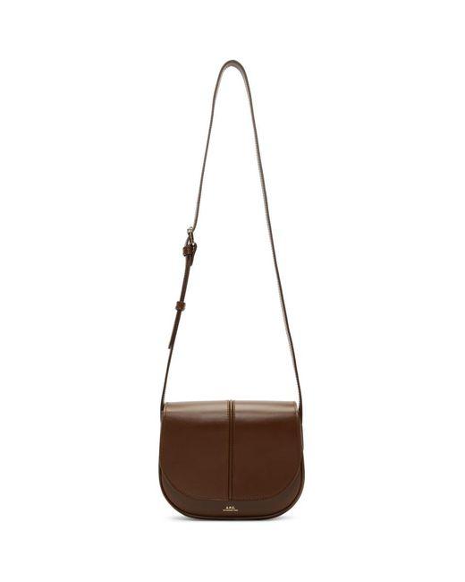 A.P.C. - Brown Betty Bag - Lyst