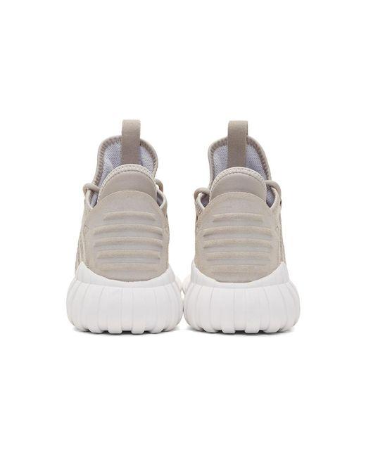 lyst adidas originali - tubulare, dawn scarpe marroni
