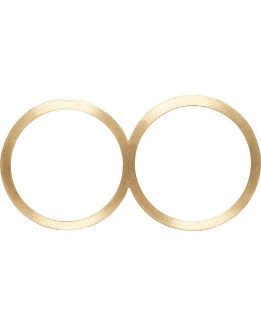 Sophie Bille Brahe | Metallic Gold Rue De Diamant Double Ring | Lyst