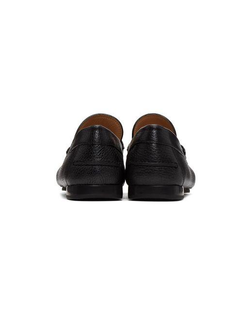 a6a1e0d6330 ... Versace - Black Medusa Driver Loafers for Men - Lyst ...