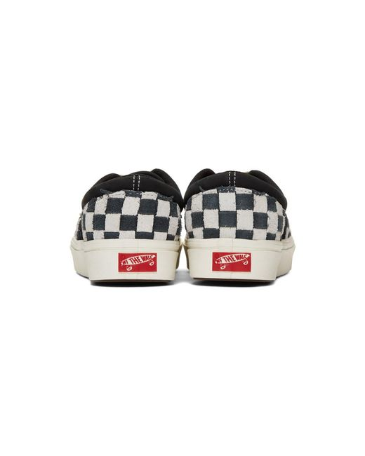 8f458434a2 ... Vans - Black And White Checkerboard Comfycush Era Sneakers for Men -  Lyst ...