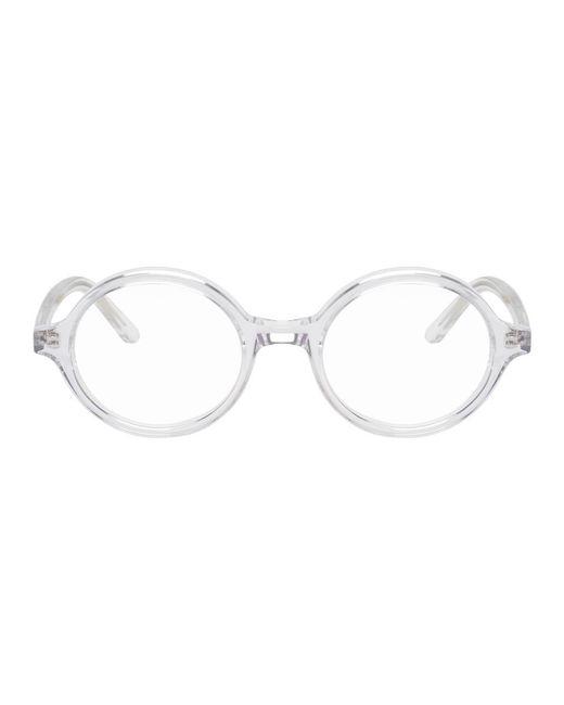 c64edd9c6238 ... Han Kjobenhavn - Multicolor Transparent And Black Doc Clip-on Sunglasses  for Men - Lyst ...