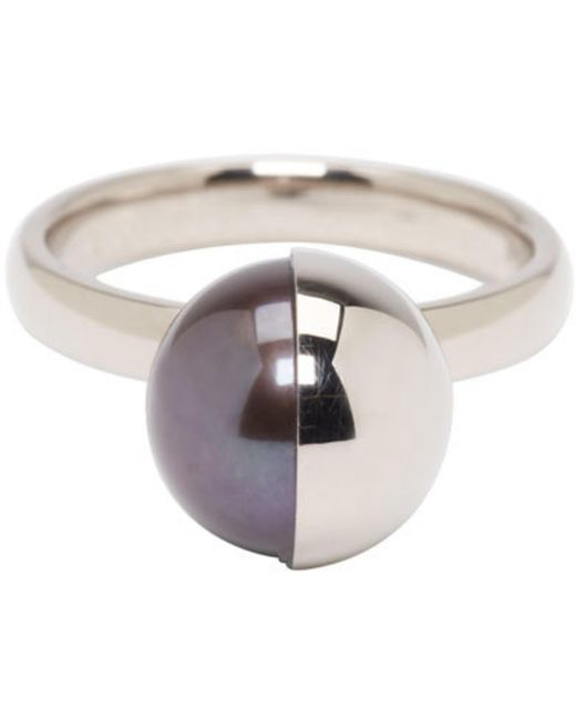 Melanie Georgacopoulos | White Gold Peacock Pearl Tasaki Edition Ring | Lyst