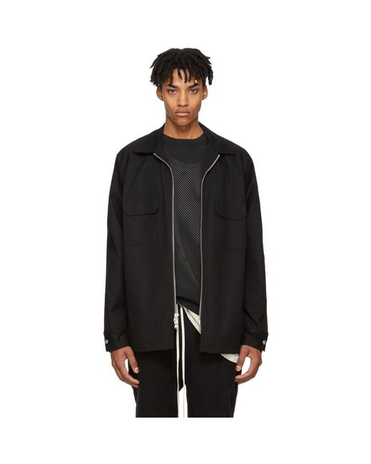 Fear Of God - Black Chino Work Shirt for Men - Lyst