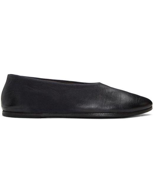 Marsèll | Black Coltellaccio Ballerina Flats | Lyst