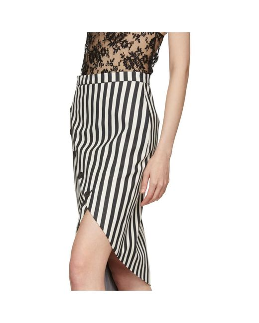 Black and White Paul Bert Skirt Altuzarra Countdown Package With Credit Card Cheap Price yHeJvXPcnE