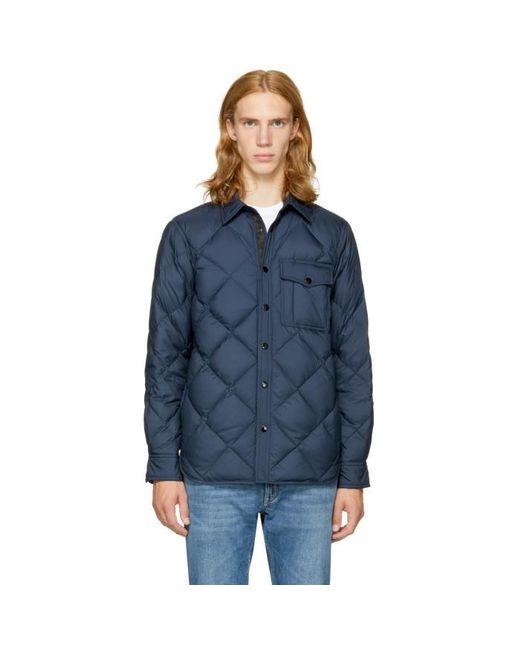 Rag & Bone | Blue Navy Mallory Shirt Jacket for Men | Lyst