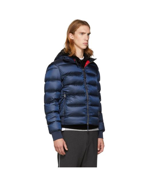 ... Parajumpers - Blue Sheen Pharrell Jacket for Men - Lyst ...