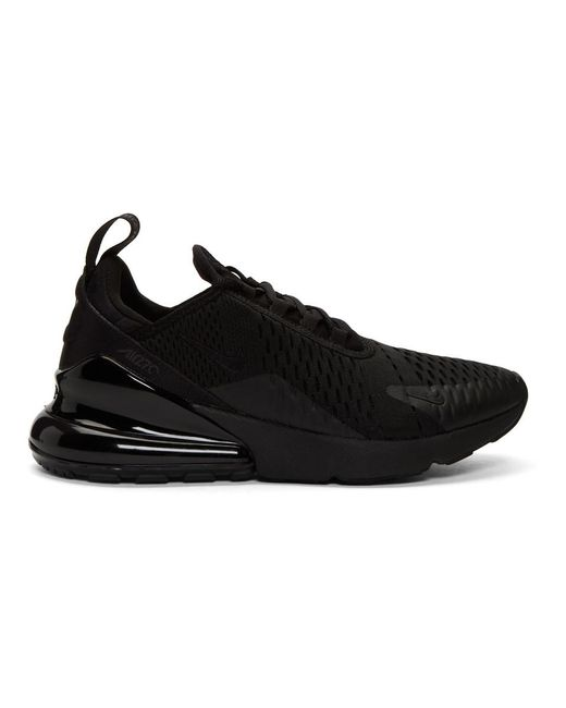 Men's Black Air Max 270 Sneakers