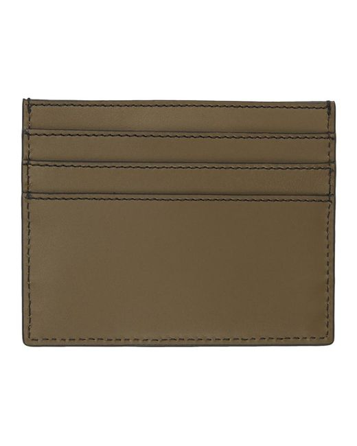 9583af1021ad0 ... Fendi - Brown And Black Forever Business Card Holder for Men - Lyst
