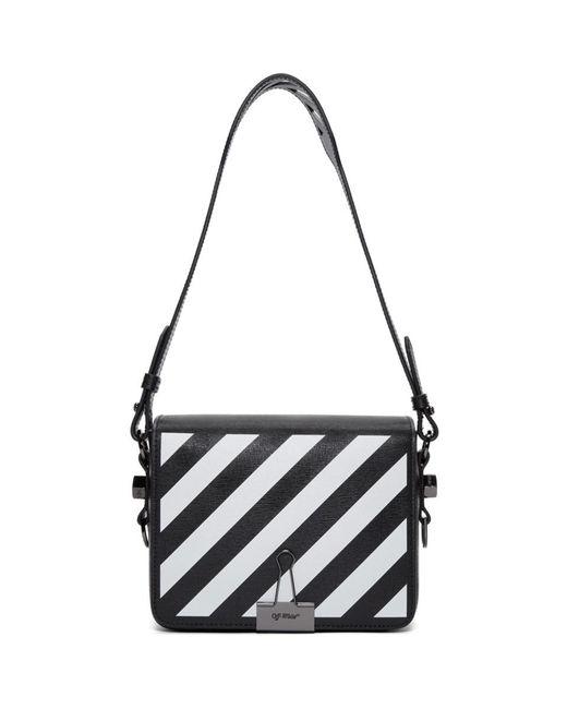 Off-White c/o Virgil Abloh - Black Binder Clip Leather Shoulder Bag - Lyst