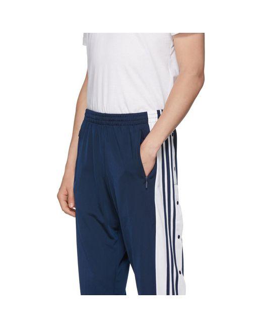 Adidas originali marina og adibreak pantaloncini blu per gli uomini lyst