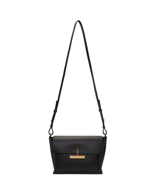 Sophie Hulme - Black The Pinch Crossbody Bag - Lyst