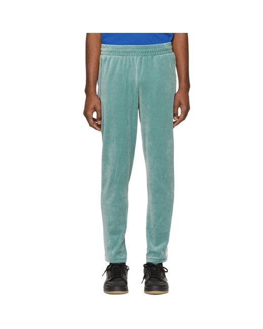 Adidas Originals - Green グリーン ベロア コージー ラウンジ パンツ for Men - Lyst