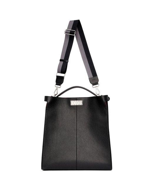 c473ed5802c0 Lyst - Fendi Black Peek-a-boo X-lite Briefcase in Black for Men