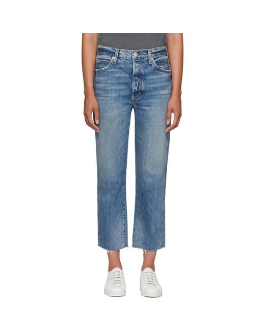 AMO - Blue Loverboy Jeans - Lyst