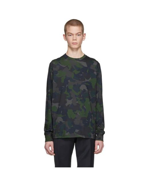 PS by Paul Smith | Green Camo Sweatshirt for Men | Lyst