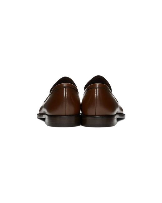 faf72bcfc4e ... Paul Smith - Brown Wolf Loafers for Men - Lyst ...