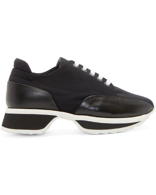 Pierre Hardy   Black Neoprene Turbo Sneakers   Lyst