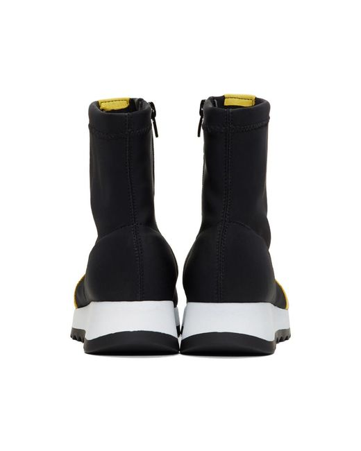 Black Ines Sock High-Top Sneakers Won Hundred hSGahk