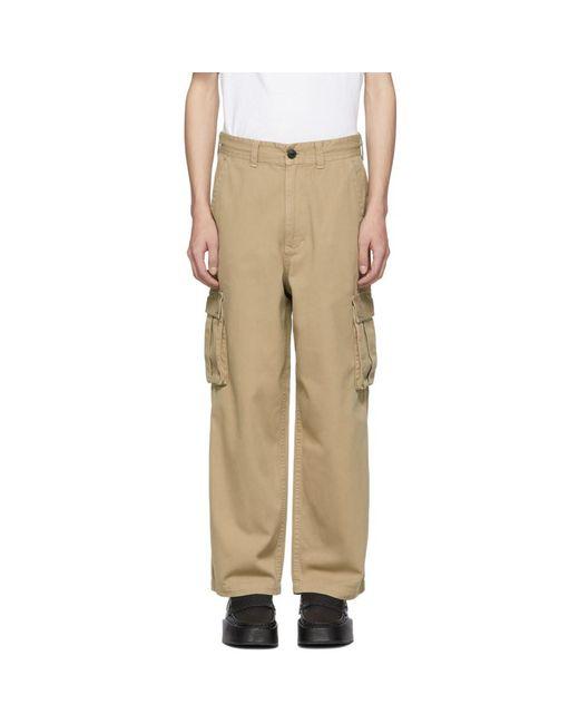 Wheir Bobson - Natural ベージュ バギー カーゴ パンツ for Men - Lyst