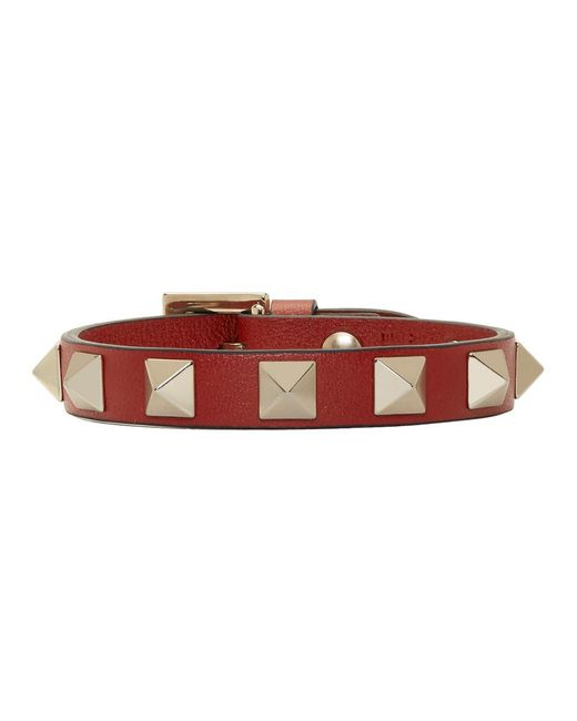 Valentino - Red Garavani Rockstud Bracelet - Lyst
